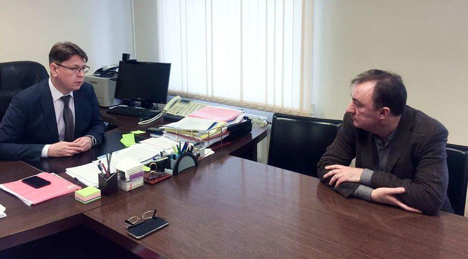 встреча главного врача Центра с председателем Общественного Совета