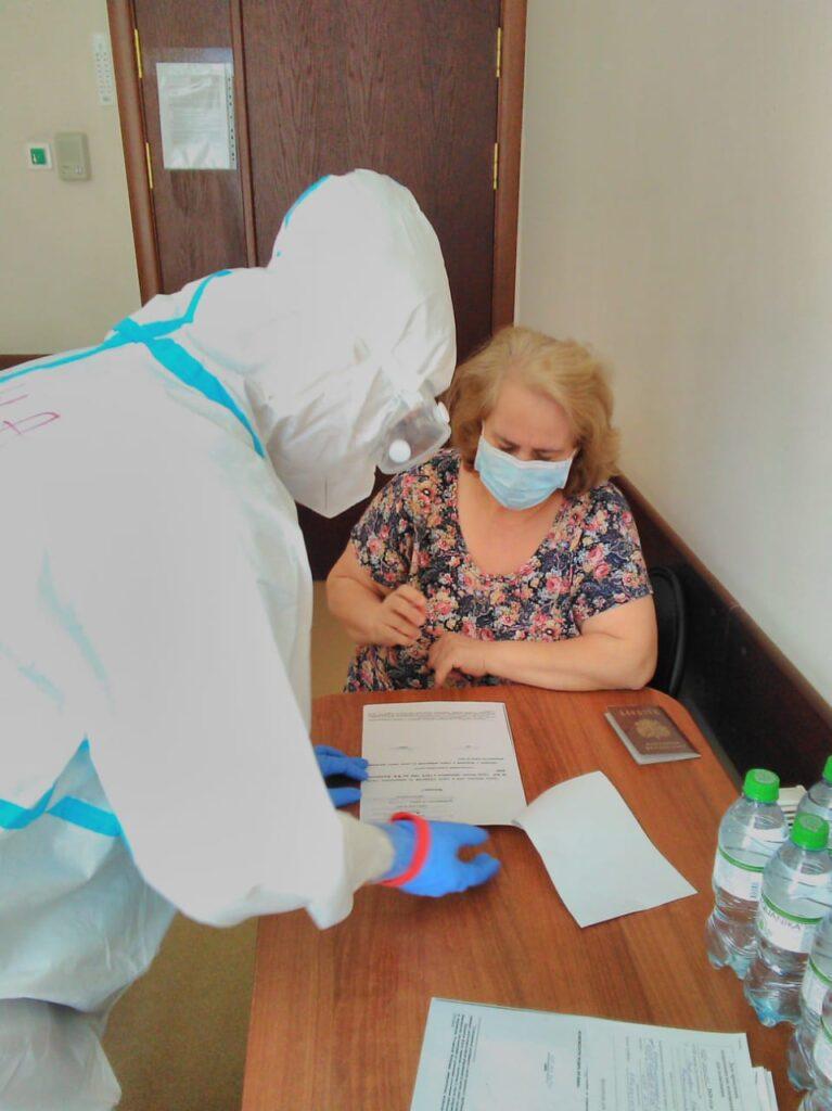 Голосование пациентов в ЦПРиН